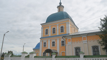 Христорождественский храм в Михайлове